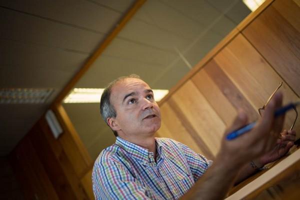 José Alberto Díaz-Estébanez es concejal de Infraestructuras y portavoz municipal de CC en Santa Cruz. | A. G.