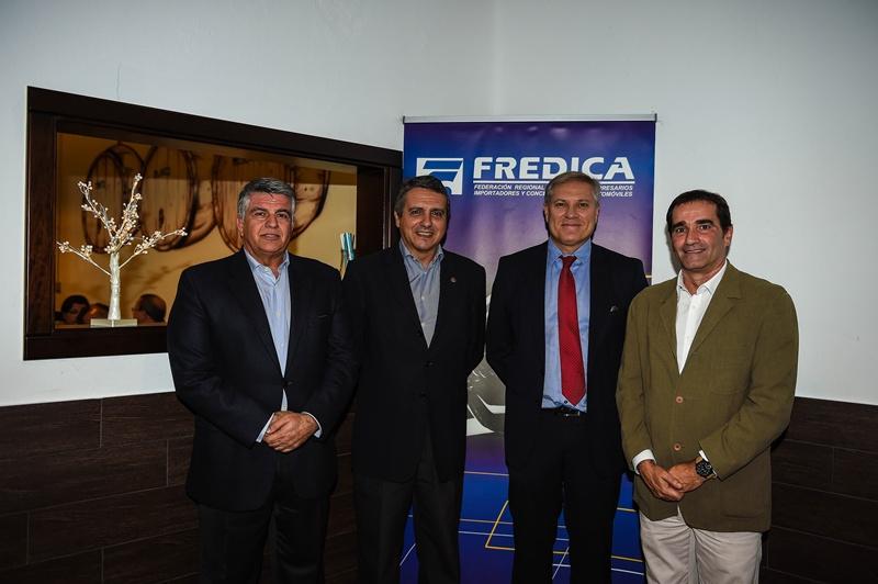 Juan González, José Manuel Suárez, Rafael Pombriego y Francico Fariña