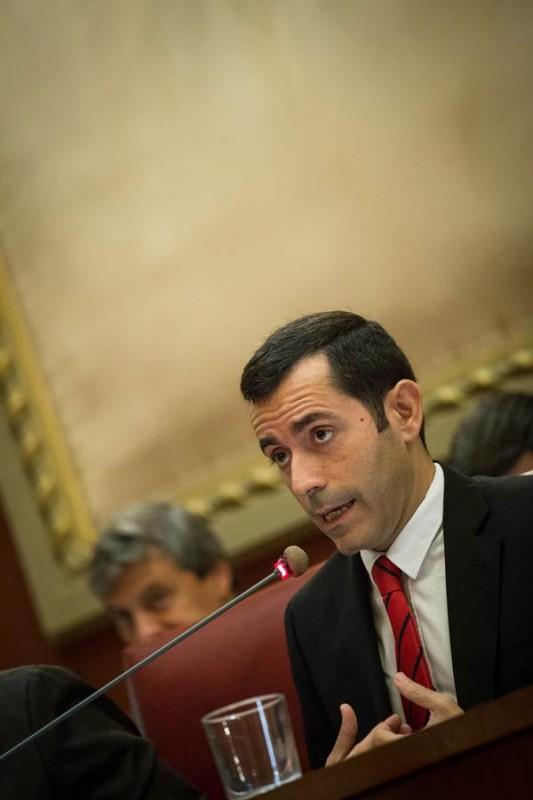 Juan José Martínez es el concejal de Hacienda de Santa Cruz. | A. G.