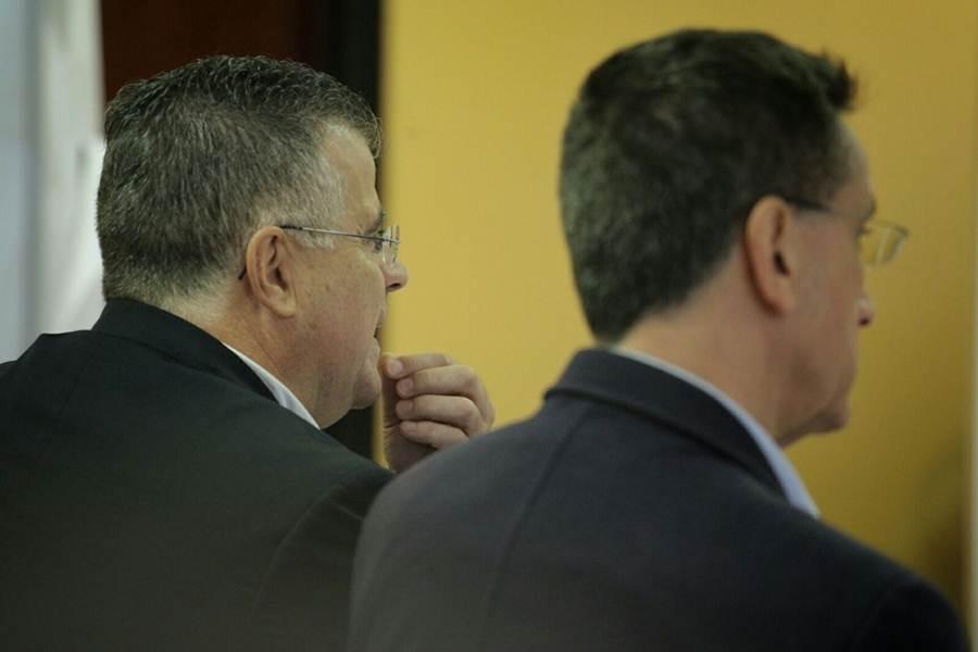 Imágenes del juicio de la pieza separada del caso Arona.   ANDRÉS GUTIÉRREZ