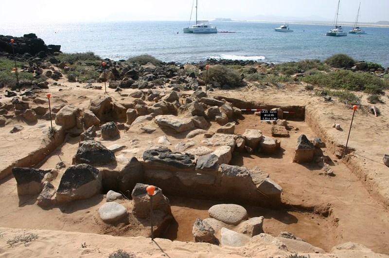 El yacimiento romano de Lobos es uno de los más importantes de los descubiertos en los últimos años. / DA