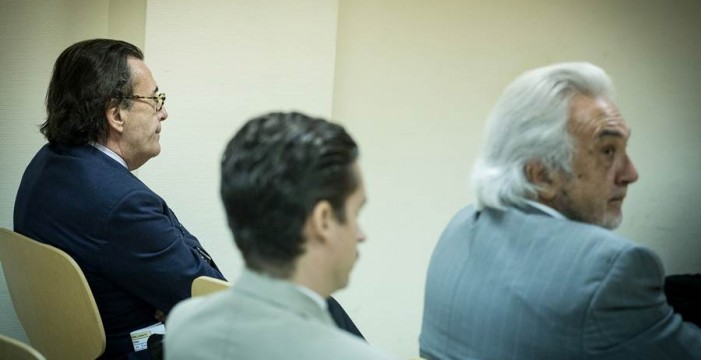 Juzgan a Hernandis y Reyero por una reclamación multimillonaria