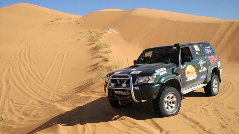 El equipo canario Tenerife Costa Sur 7Raid participó con un Nissan Patrol GR.