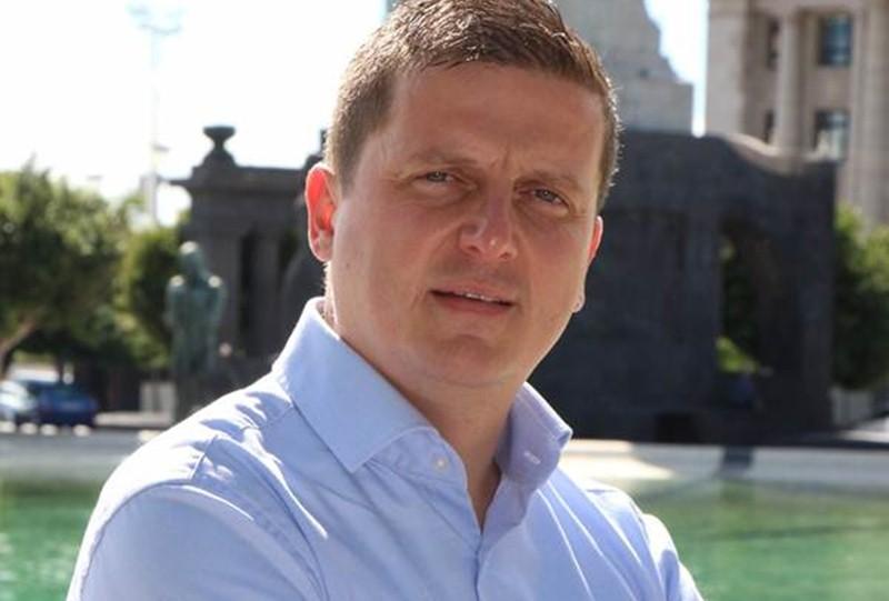 Miguel del Pino, cabeza de lista de UPyD por la provincia tinerfeña. / DA