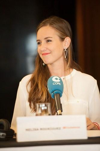 Melisa Rodríguez. Candidata de Ciudadanos. / F.P.