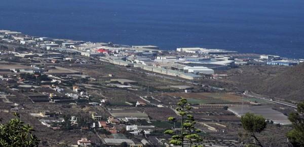 Vista general del Polígono Industrial del Valle de Güímar. | NORCHI