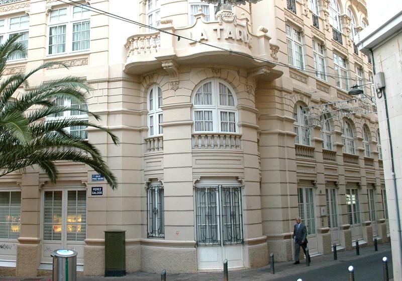 Imagen de la sede de la Audiencia de Cuentas en Santa Cruz de Tenerife. / DA
