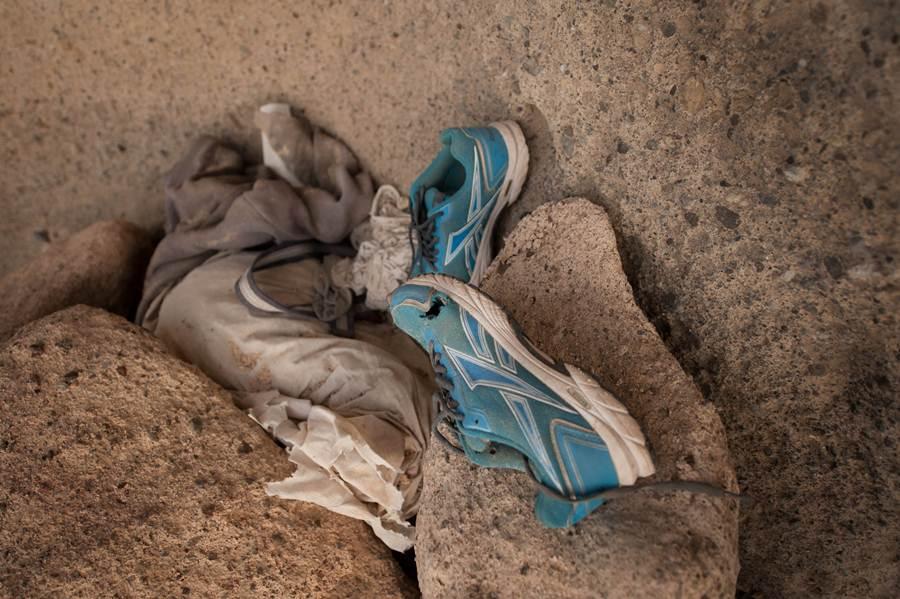 Basura en Llanos de Troya. | FRAN PALLERO