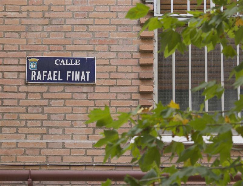 Calles franquistas Madrid
