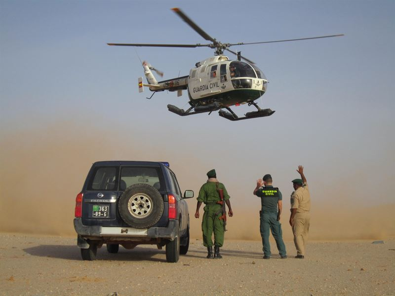 Detención del presunto organizador de viajes de cayucos. / CEDIDA