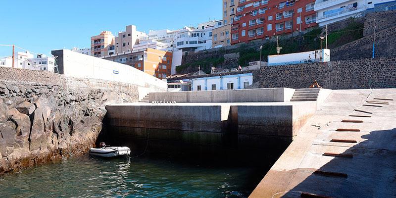 Estado actual del refugio pesquero conocido como El Roquete. / SERGIO MÉNDEZ