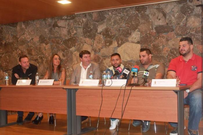 El acto de presentación tuvo lugar ayer en el municipio norteño de La Victoria de Acentejo. | DA