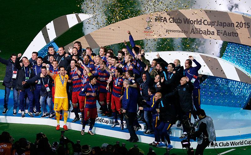 FC BARCELONA MUNDIAL CLUBES 2015