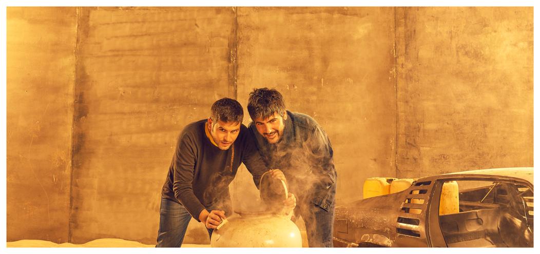 José Manuel y David Muñoz publicaron el mes pasado el álbum 'Rumba a lo desconocido', el noveno en su carrera. / DA