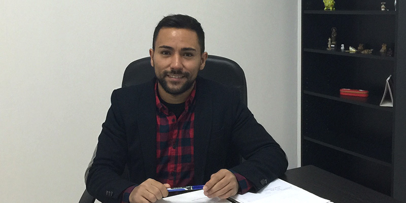 El concejal de Empleo y Desarrollo Local de La Victoria, Leo García