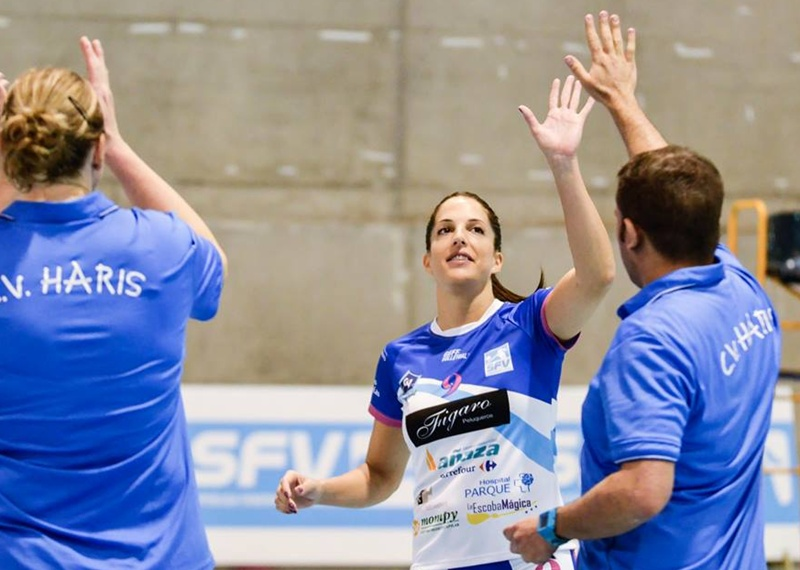 Marta Fraile y el CV Fígaro Peluqueros, MVP de la primera vuelta de Superliga Femenina