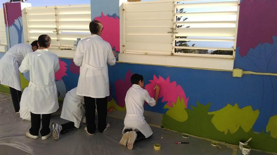 mural para niños HUC 1