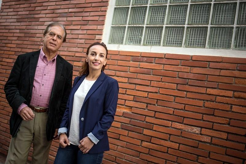 Olivia Delgado y José Vicente González, candidatos del PSOE al Senado por Tenerife. / ANDRÉS GUTIÉRREZ