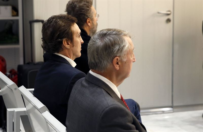 Ramoncín durante el juicio. / EP