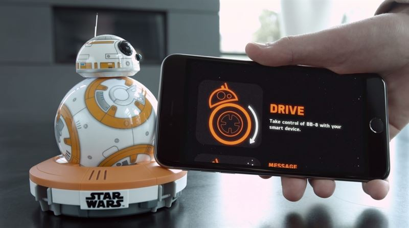 Robot BB-8, droide de la séptima película de la saga: 169,90
