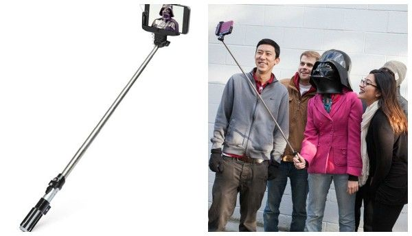 Stick Jedi para selfies: 19,90 euros.