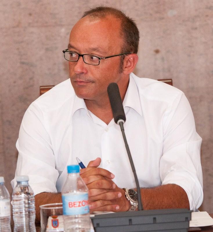 Arquipo Quintero, concejal de Ciudadanos en Granadilla. / DA