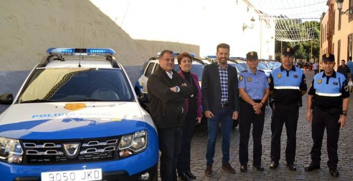 La Policía Local contará antes de 2019 con 25 nuevos vehículos