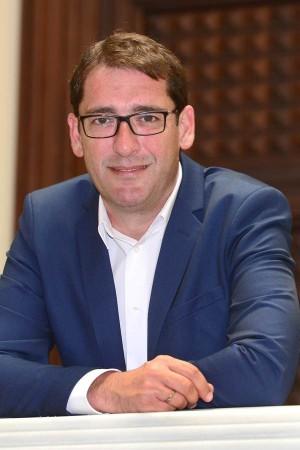 Álvaro Lavandera, portavoz del PSOE en el Parlamento canario. | S. MÉNDEZ