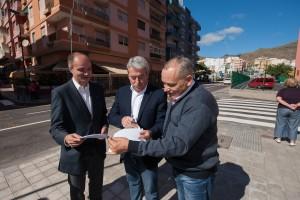 José Alberto Díaz Estébanez, Aurelio Abreu y Efraín Medina