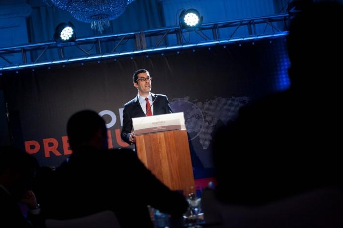 José David Santos, director de Diario de Avisos. / FRAN PALLERO
