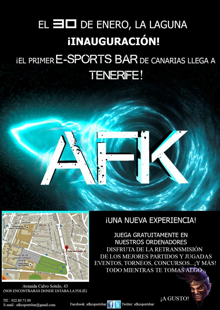 AFK-Flyer