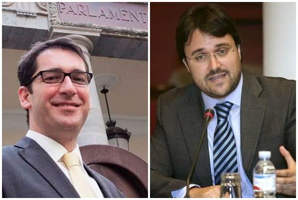 Alvaro Lavandera y Asier Antona. | DA