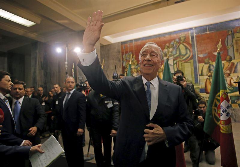 El presidente electo de Portugal, el conservador Marcelo Rebelo de Sousa. HUGO CORREIA / REUTERS