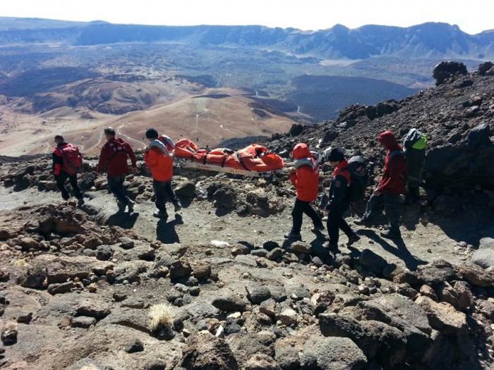 Se ha detectado un aumento en las actuaciones de salvamento en la montaña. | DA