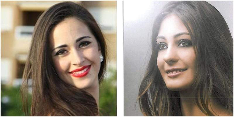 Estefanía García y Manuela Hernández