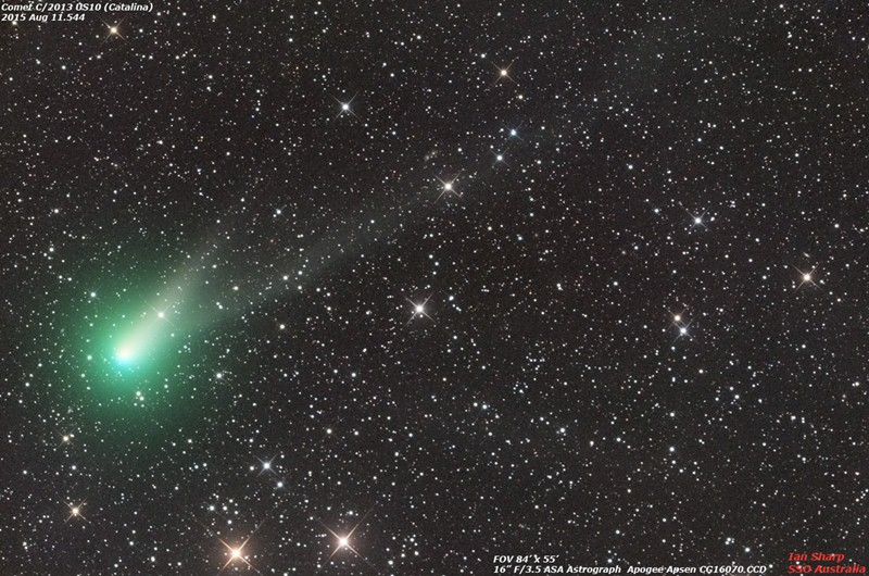 Cometa Catalina (C/2013 US10). / FUENTE: cometografia.es