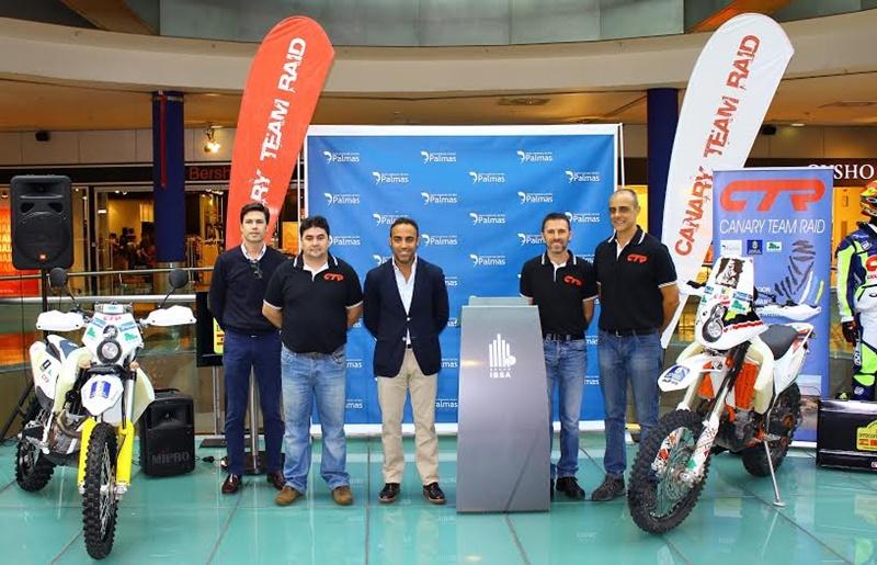 Una imagen de la presentación oficial del Canary Team Raid que participará en el Intercontinental Rally. | DA