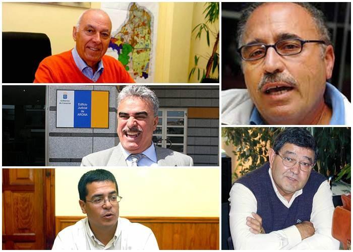 Manuel Barrios; Félix Sierra; Juan José Alayón; Alfonso Barroso y Daniel Martín. | DA
