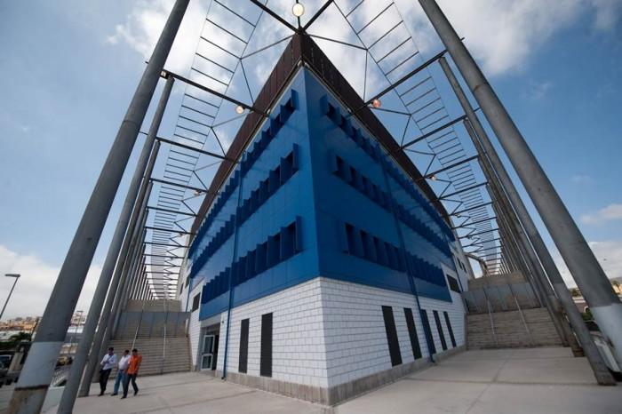 La instalación que unificará los servicios de coordinación de emergencias estará anexa al Pabellón Santiago Martín. | FRAN PALLERO