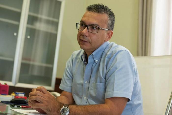 Dámaso Arteaga es el concejal de Servicios Públicos del Ayuntamiento de Santa Cruz. | FRAN PALLERO