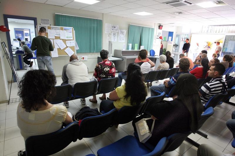 Oficina de desempleo en Los Cristianos, en el municipio de Arona. / DA