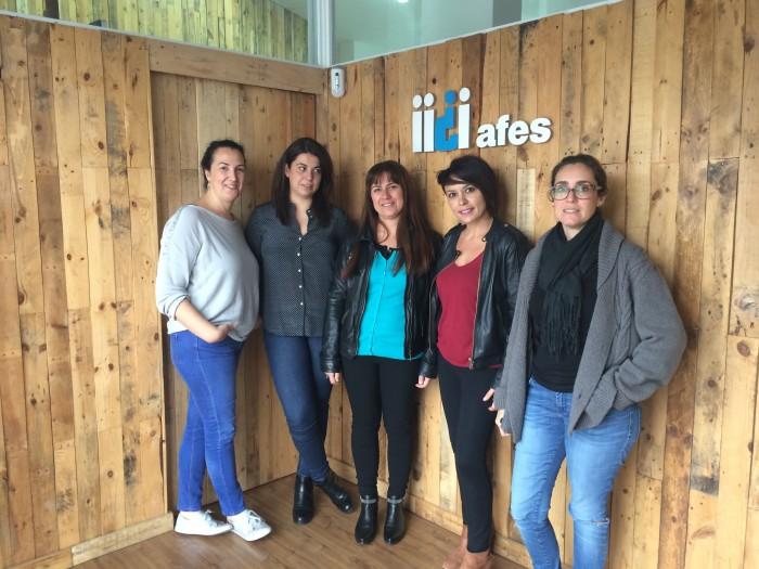 AFES cuenta con un equipo multidisciplinar de profesionales. / DA