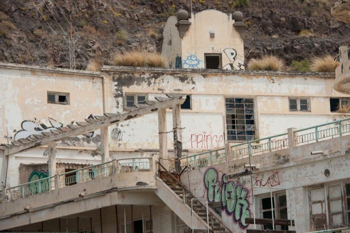 El Balneario permanece en estado de abandono. / F. P.