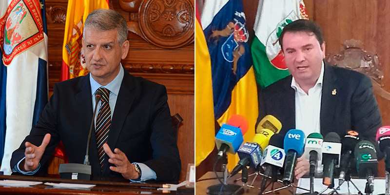 Francisco Linares y Fermín Correa