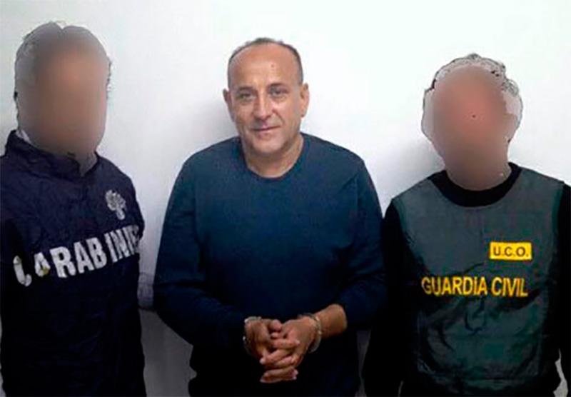 Giuseppe Polverino detención 2012