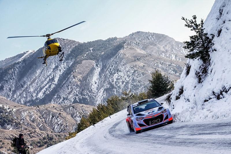 Hyundai i20 WRC Rally de Montecarlo