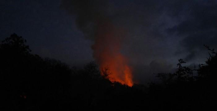 Controlado el incendio en la zona alta de La Matanza