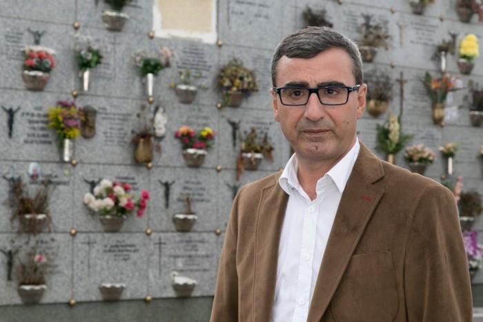 El concejal de Servicios Municipales, Javier Abreu. / DA