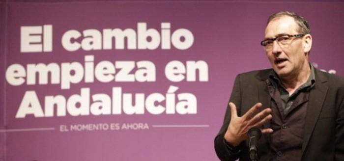 José Luis Serrano, diputado de Podemos en el Parlamento andaluz. / CEDIDA