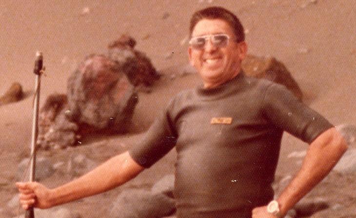 Manuel Abreu Hernández, en una imagen a principios de los años 70. / DA